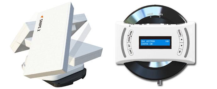 selfsat SNIPE V2 Sat-Antenne für wohnmobil wohnwagen lkw camping