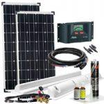 Wohnmobil Solarzelle mit Laderegler kaufen und montieren