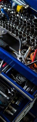 Werkzeug zur Wohnmobil-Reparatur