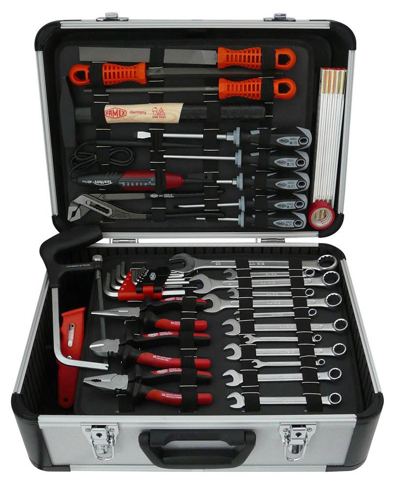Wohnmobil Werkzeugkoffer mit Werkzeugen für das Reisemobil