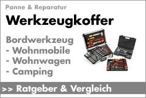 Ratgeber: Werkzeug für Wohnmobil und Wohnwagen