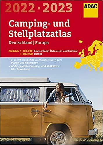 ADAC Camping- und Stellplatzatlas Deutschland Europa | WoMoFLAIR Buchtipp