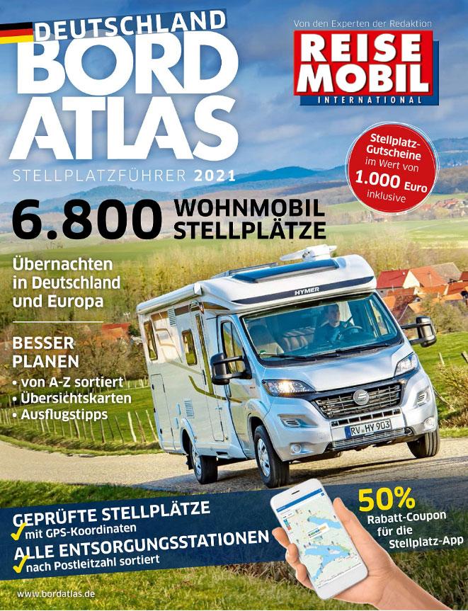 Wohnmobil Bordatlas - 6800 Stellplätze im Stellplatzführer | WoMoFLAIR Buchtipp